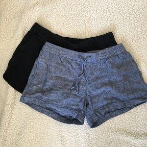 2 pairs Old Navy soft drawstring shorts